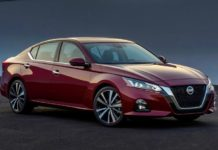 2020 Nissan Altima front