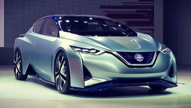 the new 2020 nissan leaf offers 342 miles  550 km  of ev range