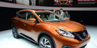 2020 Nissan Murano front