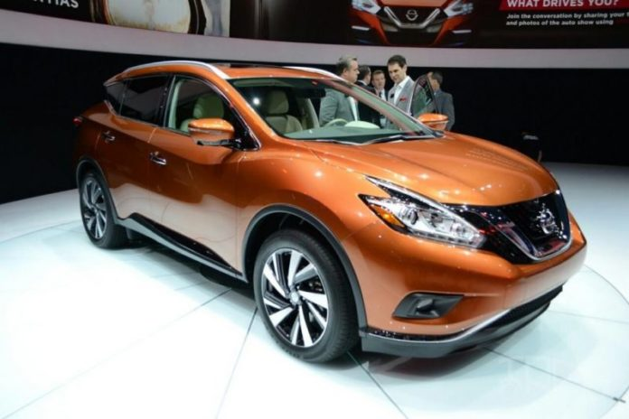 2020 Nissan Murano front