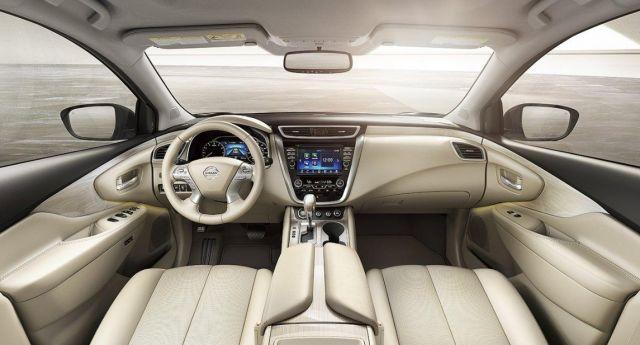 2020 Nissan Murano interior