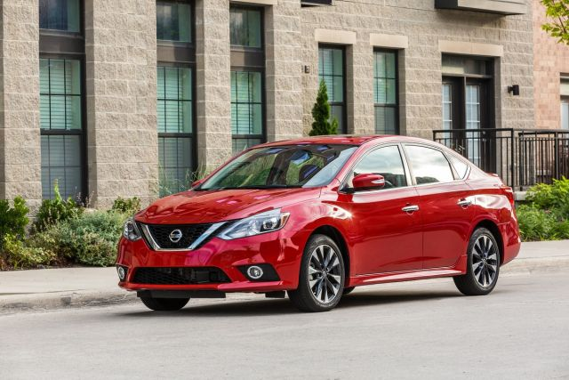 2020 Nissan Sentra front