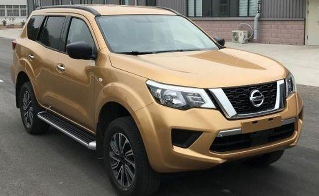2020 Nissan Xterra front