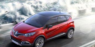 2020 Renault Captur front