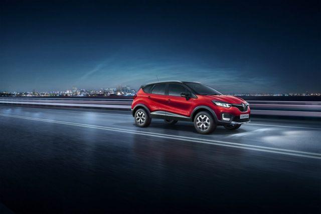 2020 Renault Captur side