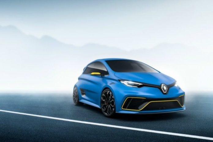 2020 Renault Zoe RS model