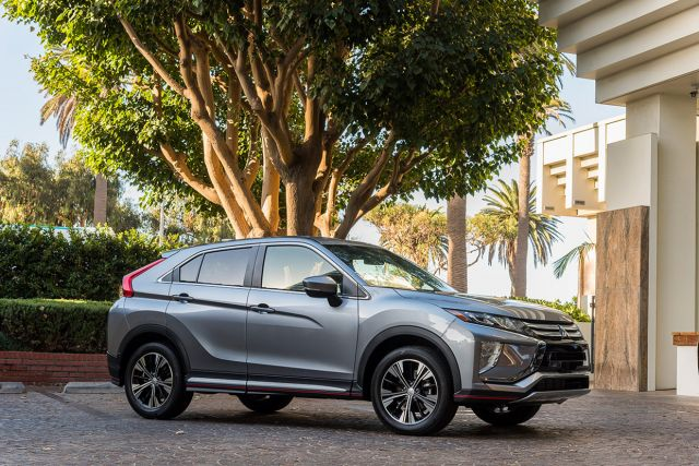2020 Mitsubishi Eclipse Cross side