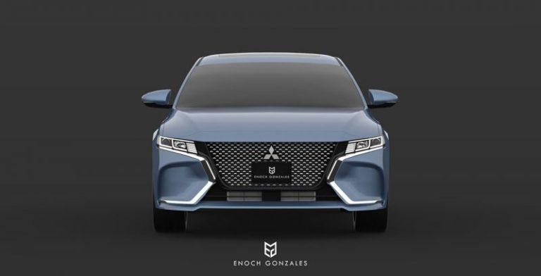 New Mid-Size Sedan Mitsubishi Galant is Coming Back