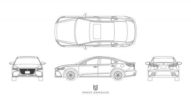 2020 Mitsubishi Galant image