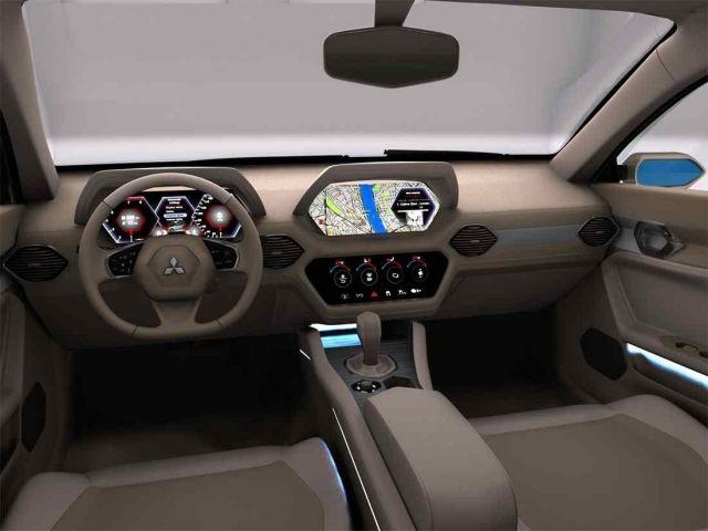 2020 Mitsubishi Galant interior