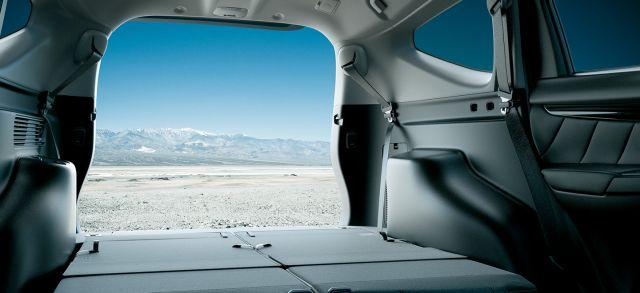 2020 Mitsubishi Pajero trunk