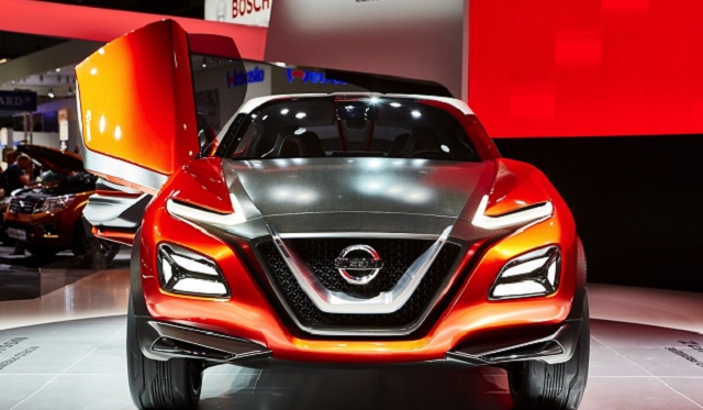 2020 Nissan Juke front view
