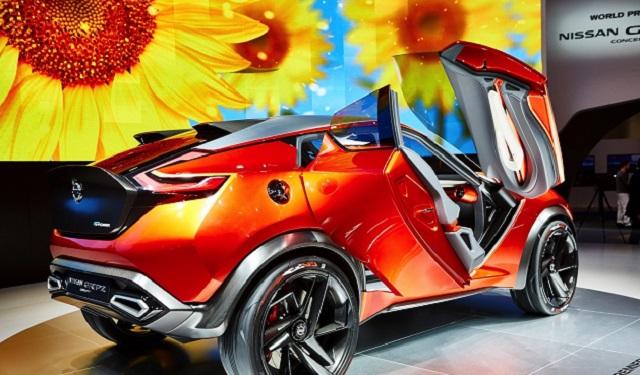 2020 Nissan Juke rear view