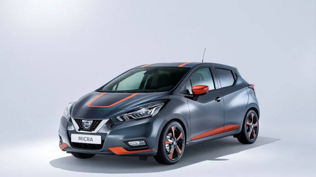 2020 Nissan Micra front