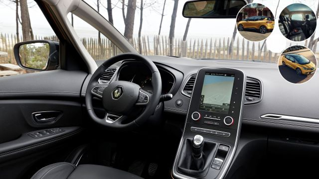 2020 Renault Scenic interor