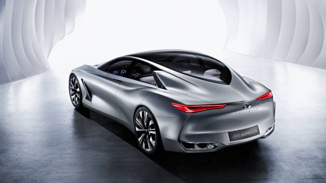 2020 Infiniti Q80 rear look