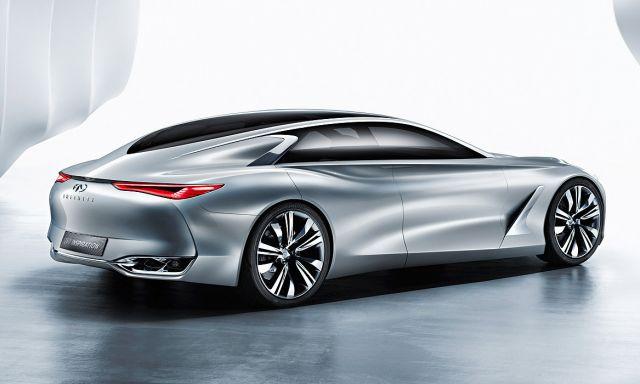 2020 Infiniti Q80 rear