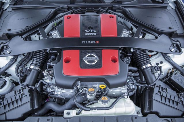 2020 Nissan 400Z engine