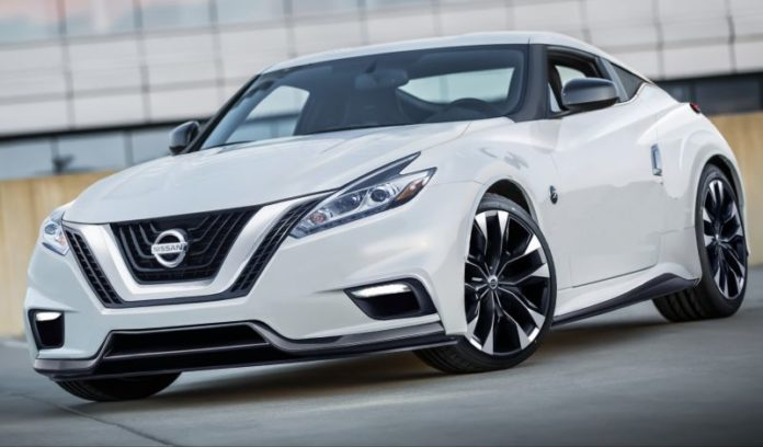2020 Nissan 400Z front