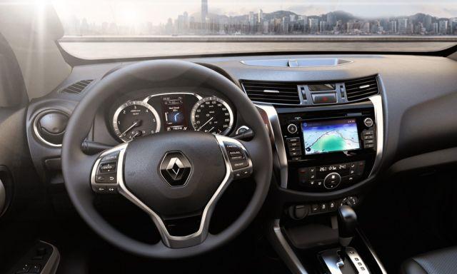 2020 Renault Alaskan interior