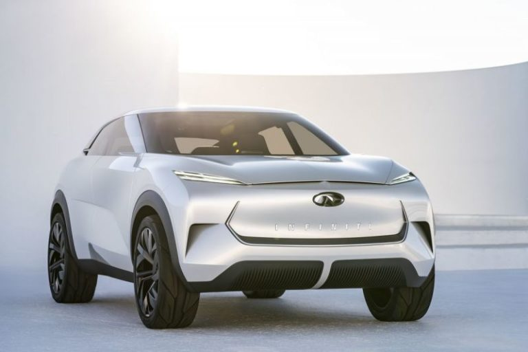 All-Electric Infiniti QX Inspiration Concept Failed to Start At The Detroit Auto Show