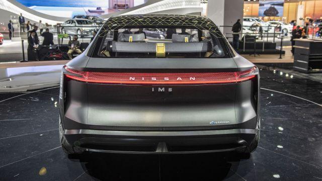 Nissan IMs EV rear look