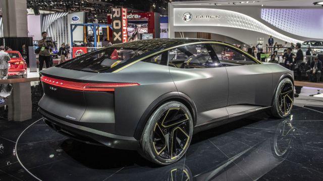 Nissan IMs EV rear