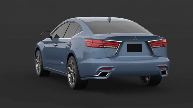 2020 Mitsubishi Gallant rear look