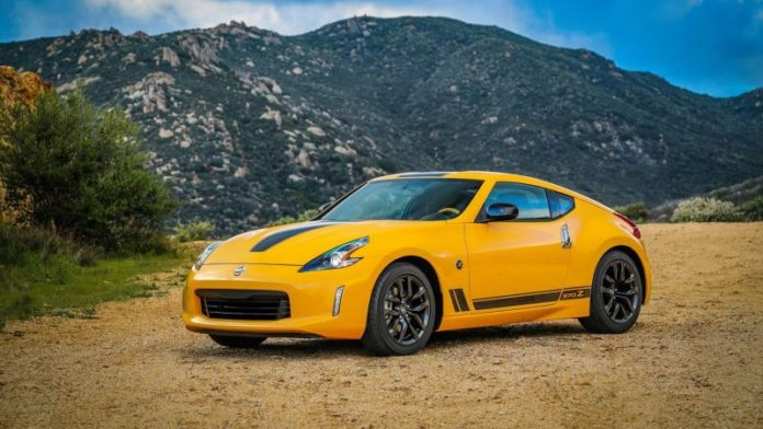 2020 Nissan 370Z front