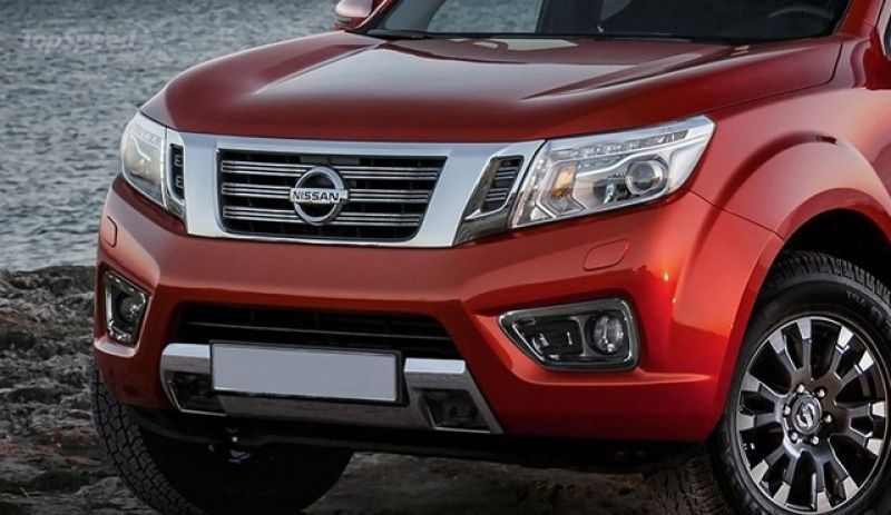 2020 Nissan Frontier Pro-4x front