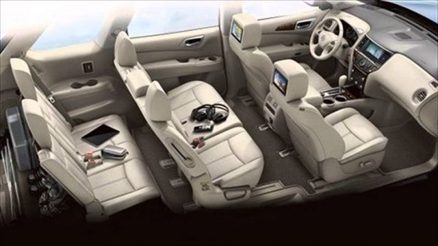 2020 Nissan Quest interior