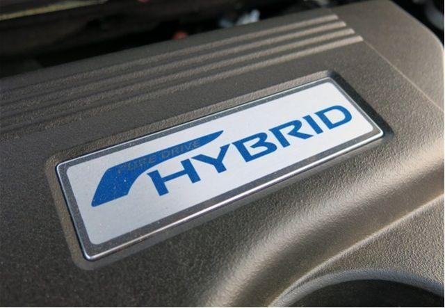 2020 Nissan Rogue Hybrid engine