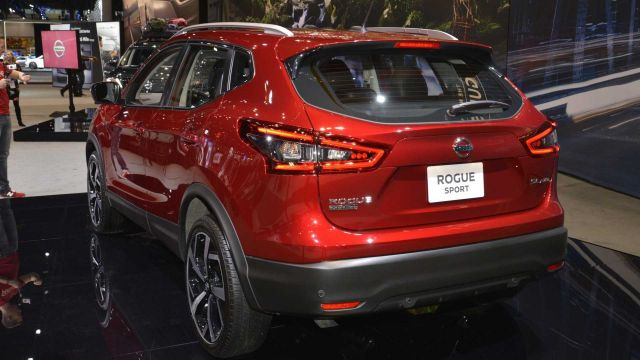 2020 Nissan Rogue Sport rear