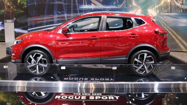 2020 Nissan Rogue Sport side