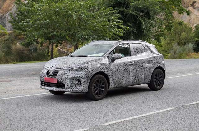 2020 Renault Captur Plug-In Hybrid side