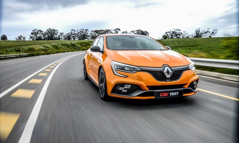 2020 Renault Megane RS front