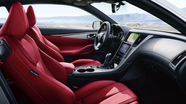 2020 Infiniti Q60 interior