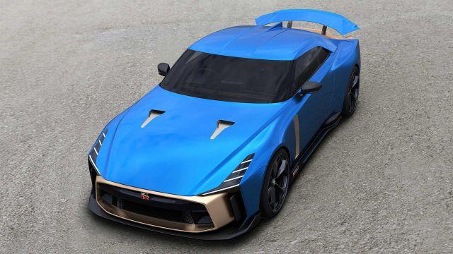 2020 Nissan GT-R50 air view