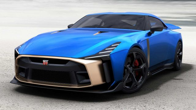 2020 Nissan GT-R50 front