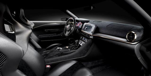 2020 Nissan GT-R50 interior