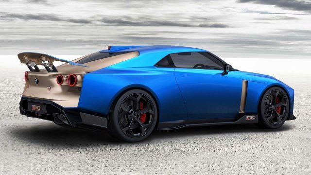 2020 Nissan GT-R50 rear