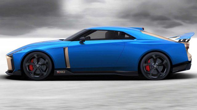 2020 Nissan GT-R50 side