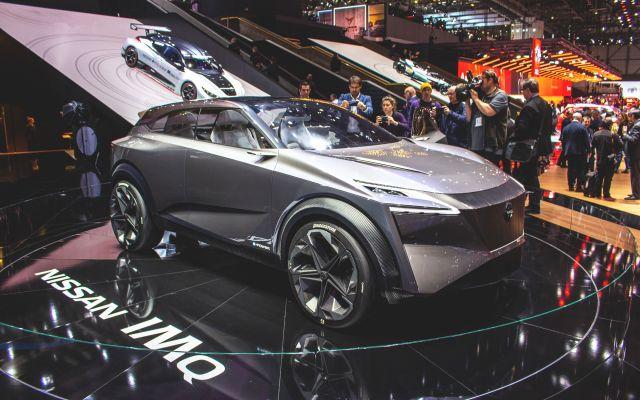 2020 Nissan IMQ front