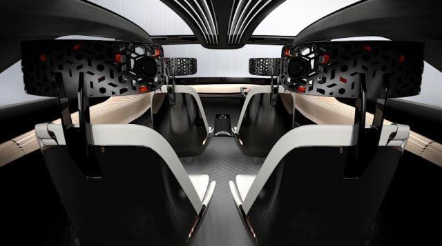2020 Nissan IMQ interior
