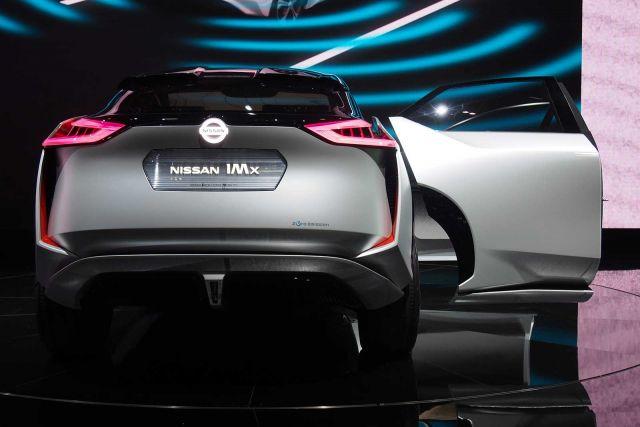 2020 Nissan IMQ rear