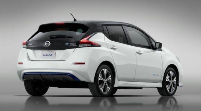 2020 Nissan Leaf E+ rear