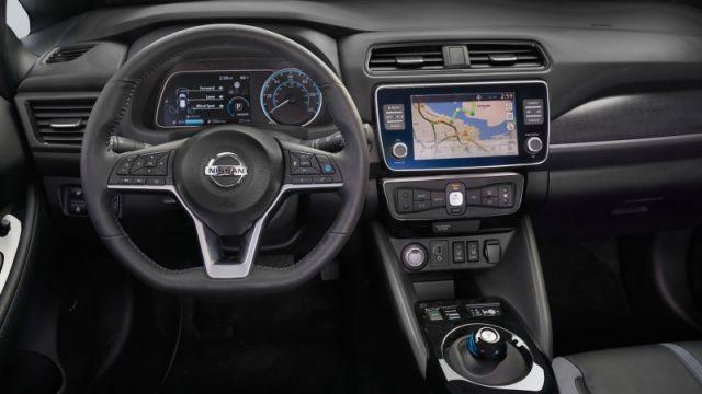 2020 Nissan Leaf Plus interior