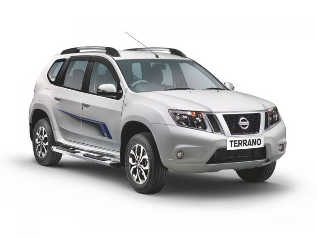 2020 Nissan Terrano front