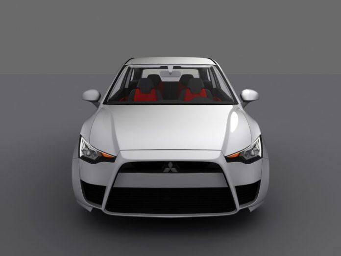 2020 Mitsubishi Colt front