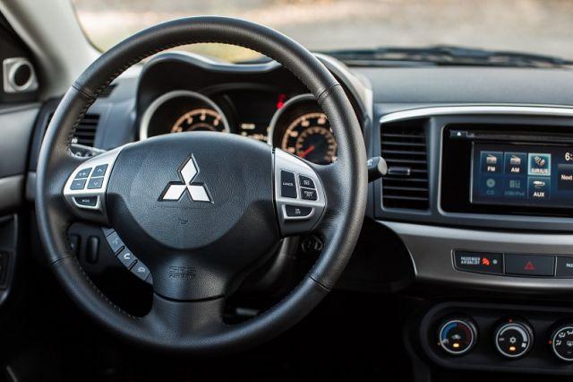2020 Mitsubishi Colt interior